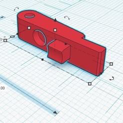 Sans titre.jpg Download free STL file Hop up lever for Amoeba striker AS-02 • Design to 3D print, BaD-TecH