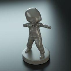 ferrari-funko-pilot-3d-model.jpg Download STL file Ferrari Funko Pilot  • 3D printer design, Gioppa