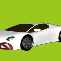 3D printer models car model, DXd