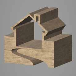 3D printer files House, VirtuaArtHub