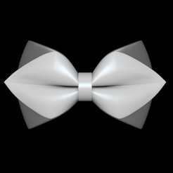 3D printer files Bow Tie 02, VirtuaArtHub