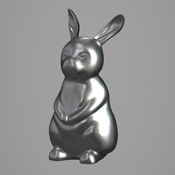 3D printer files Rabbit, VirtuaArtHub