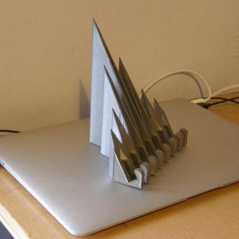 Télécharger modèle 3D gratuit Support pour iPad CoolWave 2, Darkolas