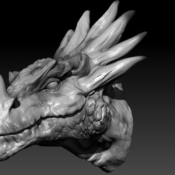 smok_display_large.jpg Download free STL file Dragon Head • 3D print design, Darkolas