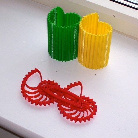 Télécharger fichier imprimante 3D gratuit Vases à engrenages Nautilus, Darkolas