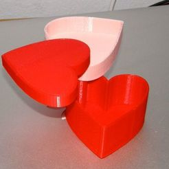 Download free STL Modular Heart Box for Valentines day, Darkolas