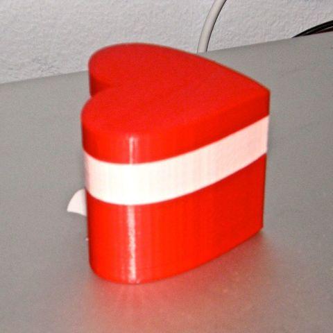 P1240092_display_large.jpg Télécharger fichier STL gratuit Boîte de coeur modulaire pour la Saint-Valentin • Design pour impression 3D, Darkolas