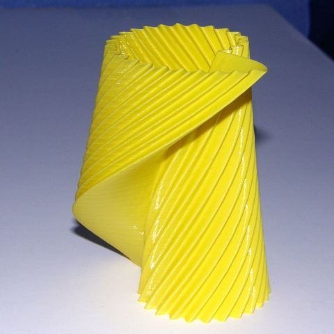 Download free 3D printing templates Twisted Nautilus Gear Vase 01, Darkolas