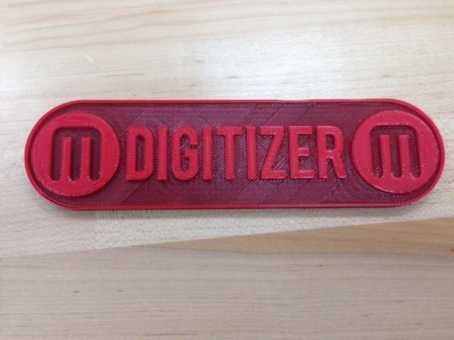photo_2_display_large.jpg Télécharger fichier STL gratuit Plaque d'identification du dos du numériseur Makerbot • Modèle pour impression 3D, Not3dred
