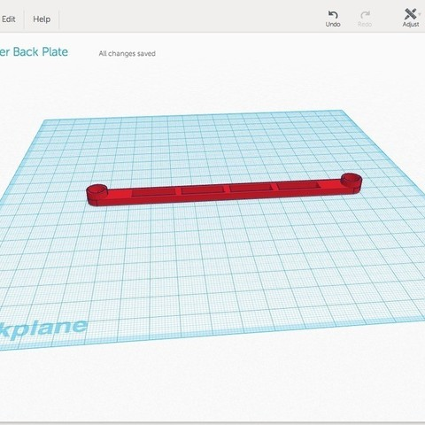 Connector_image_display_large.jpg Télécharger fichier STL gratuit Plaque d'identification du dos du numériseur Makerbot • Modèle pour impression 3D, Not3dred