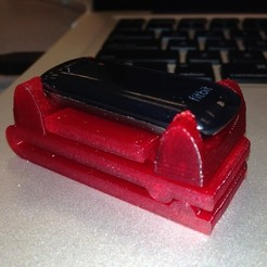 Download free 3D printing models FitBit Clip, Not3dred