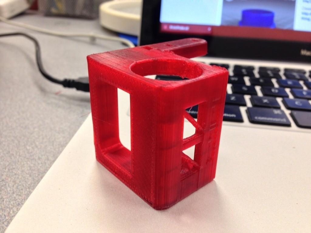 2014-05-05_17.20.29_display_large.jpg Télécharger fichier STL gratuit PrintrProbe Z-Probe Mount for 2014 Makers Simple Kit • Objet pour impression 3D, Not3dred