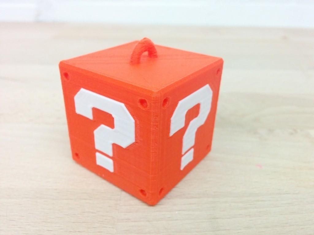 IMG_20141013_211629_display_large.jpg Télécharger fichier STL gratuit Cintre Super Mario Mystery Block (Simple & Double Extrusion) • Modèle pour imprimante 3D, Runstone