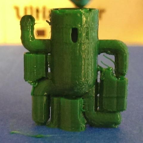 Download free 3D printer designs Cactuar, Runstone