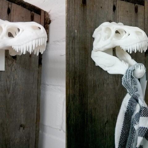 Descargar Modelos 3D para imprimir gratis TeaTowelosaurus Rex, Runstone