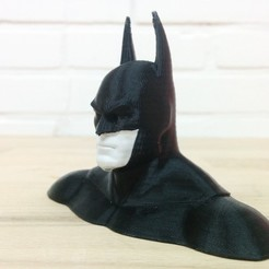 Download free 3D model Batman Bust (for Dual Extrusion), Runstone