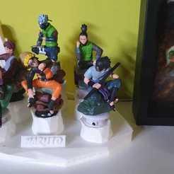 base naruto.jpeg Download free STL file Naruto base figures • 3D print design, Megahercio