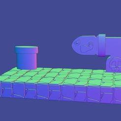 estanteria cañon.JPG Télécharger fichier STL gratuit SHELVES MARIO BROS • Plan pour impression 3D, Megahercio