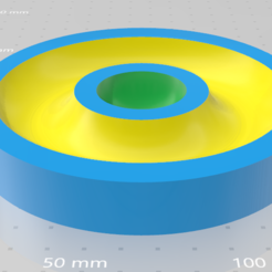 Download STL files Sharing bowl for nuts, That3DPrint