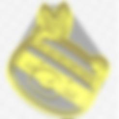 Download STL files forest animals, bear cookie cutter, geunaandrea
