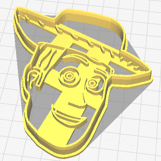 3D printed Woody From Toy Story Cookie cutter Very High Quality!!