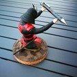 Free 3D model Samurai pen servant, fredericbol70