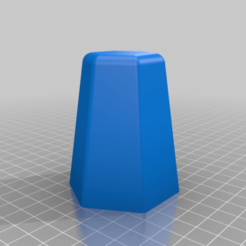 Download free STL file Hexagonal pot mould, artemisa3d