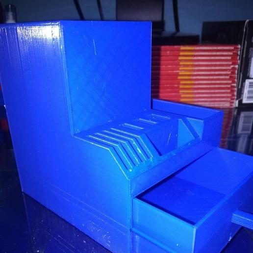 Descargar modelos 3D gratis Portalápices de sobremesa con cajón, artemisa3d