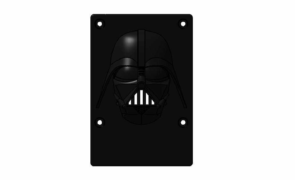 3.jpg Download free STL file raspberry pi 3 b/b+ Star Wars shell • 3D printer template, designprojetscolaire