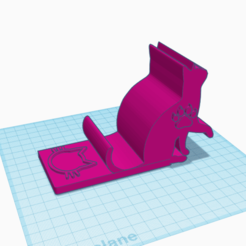צילום מסך 2021-01-15 172802.png Download STL file phone stand: cat figure  by the autistic kid no support  • 3D print model, theautistickid