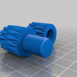 Fidget_Toy_v1.png Download free OBJ file Fidget Screw • 3D printable model, brainstriike