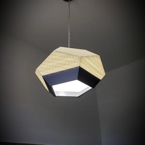 STL files Lamp, architecture, home, decoration, interior, design, trinity3d