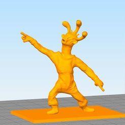 Télécharger fichier 3D Disco 3-Eyed Alien, 3D_Workshop