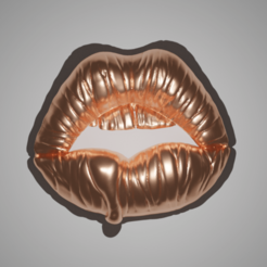 Plan imprimante 3D Sexy Lips Deco & Pendant, The-Inner-Way