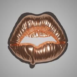 Télécharger plan imprimante 3D Sexy Lips Deco & Pendant, The-Inner-Way