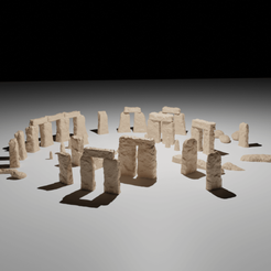 Stonehenge03.png Download STL file Stonehenge • 3D print model, The-Inner-Way