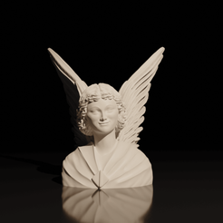 GabrielAile03.png Download STL file Gabriel Angel • 3D printable template, The-Inner-Way