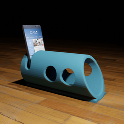 Descargar STL gratis Altavoz de tubo para Smartphone, The-Inner-Way
