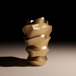 Download STL file Dune Vase , The-Inner-Way