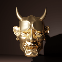 NohC.png Download STL file Japanese Ghost Noh Mask • Design to 3D print, The-Inner-Way