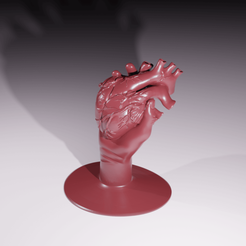 "Download STL file Have your heart on your hand!   ""Special Halloween"", The-Inner-Way"