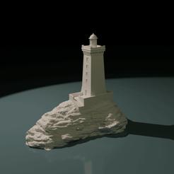 """Télécharger fichier impression 3D Light House """"la Vieille"""", The-Inner-Way"""