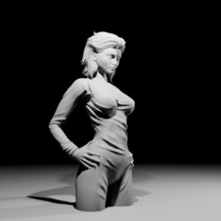 nikitanoco02.jpg Download STL file Nikita Sculpture 1.0 • 3D printing model, The-Inner-Way