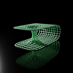 blackhole01.png Download STL file wormhole conceptual illustration • 3D printable template, The-Inner-Way