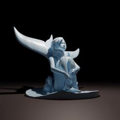 GSFH02.png Télécharger fichier 3MF La fille qui se cherche • Modèle imprimable en 3D, The-Inner-Way