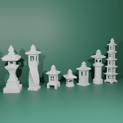 Download 3D printing files Garden lanterns, The-Inner-Way