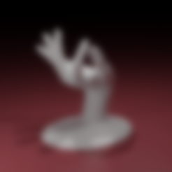 HandJewelryHolder.stl Télécharger fichier STL Jewelry Holder : My precious • Plan imprimable en 3D, The-Inner-Way