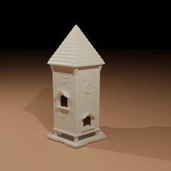 Descargar modelo 3D gratis Mansión del pájaro del jardín (gratis), The-Inner-Way