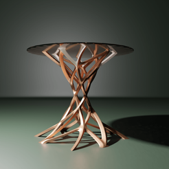 BlackHoleTable.png Télécharger fichier STL Table de vortex • Plan pour imprimante 3D, The-Inner-Way