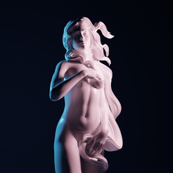 VenusBirth04.png Download STL file The Birth of Venus • 3D printing template, The-Inner-Way